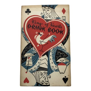 "1955 ""King of Hearts Drink Book"" For Sale"