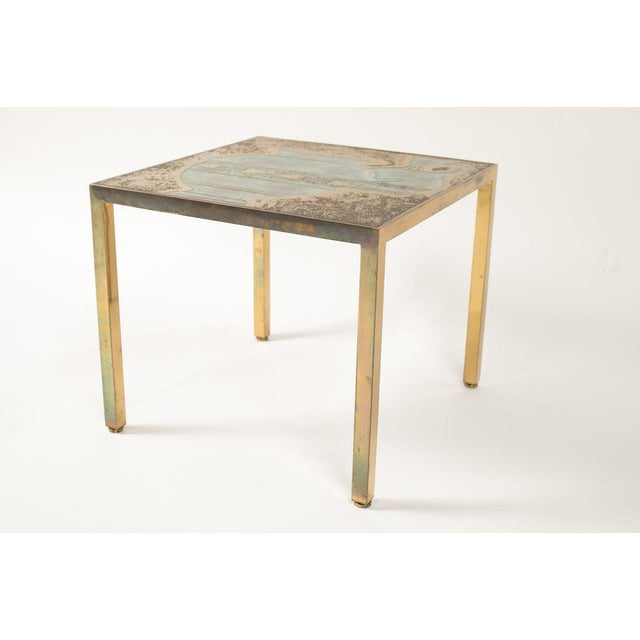 Mid-Century Modern Bronze Harvey Probber Cocktail Table For Sale - Image 3 of 8