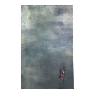 "Original Oil Painting by Marceau Verdiere ""Crocus in Fly Dream"" For Sale"