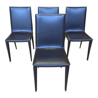 Design Within Reach Frag Renzo Fauciglietti and Graziella Bianchi Bottega Side Chairs - Set of 4 For Sale