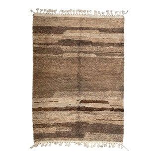 Brown Moroccan Boujad Rug For Sale