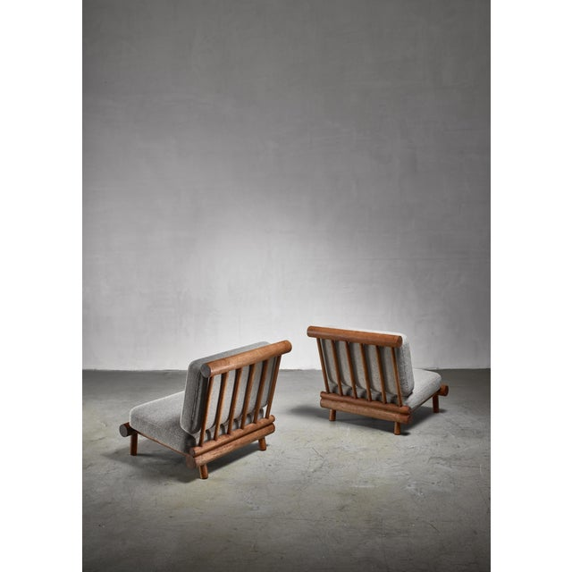 Mid-Century Modern Charlotte Perriand Chairs From La Chachette, France For Sale - Image 3 of 7
