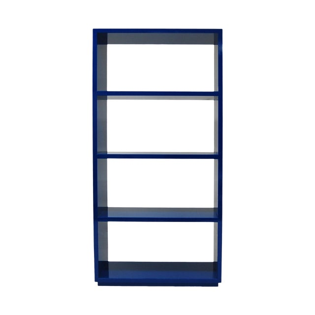 Naula Jay Bookcase Four Lacquered Shelves For Sale