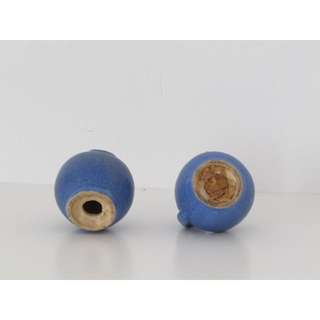 Blue Pottery Salt & Pepper Shakers - Pair - Image 7 of 7