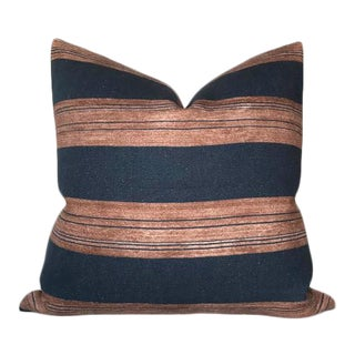 Askew Striped Pillow Cover in Sienna For Sale