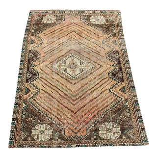 Antique Southwest Persian Ghashgaie Rug - 4'11''x 7'9'' For Sale