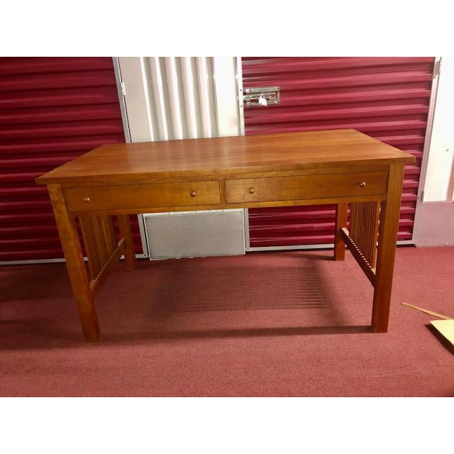 Stickley Mission Collection Writing Desk For Sale - Image 10 of 10