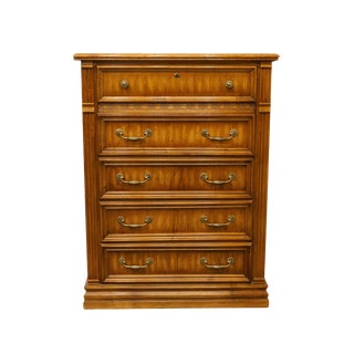 "20th Century Italian American Drew Newport Villa Collection 38"" Chest of Drawers For Sale"