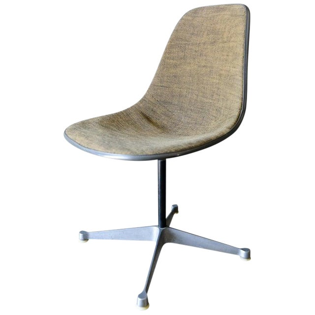 1964 Charles Eames for Herman Miller Psc Swivel Chair For Sale