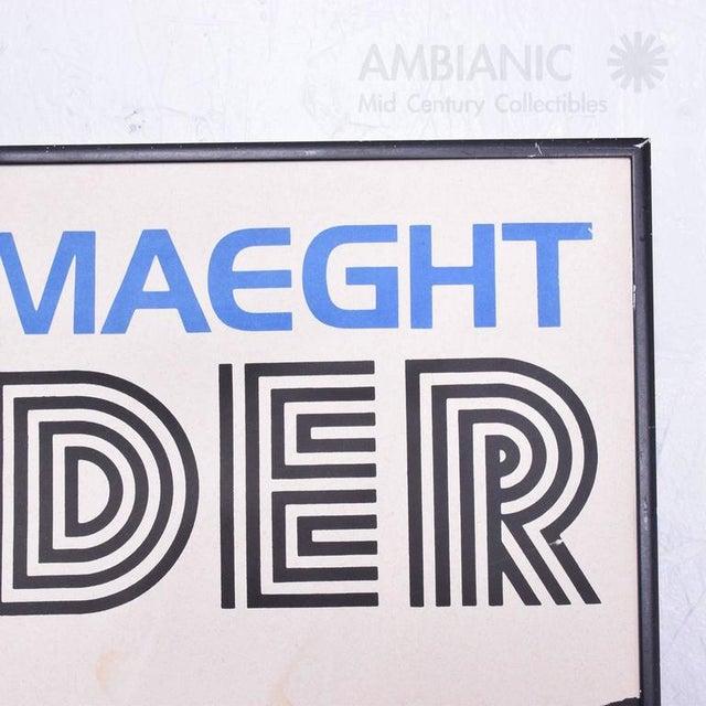Alexander Calder Galerie Maeght Calder Poster For Sale - Image 4 of 9