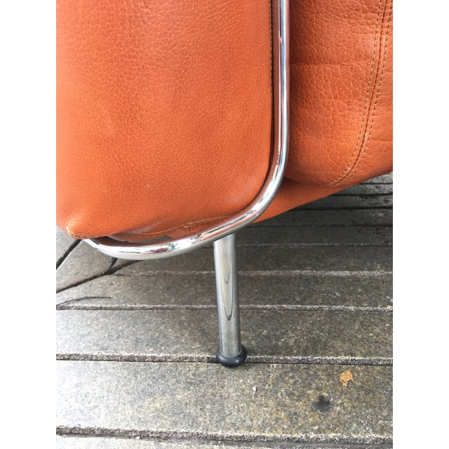 Tangerine Saporiti Lounge Chairs - a Pair For Sale - Image 8 of 13