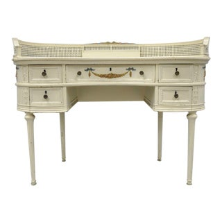 Antique French Kidney Shaped Writing Desk For Sale
