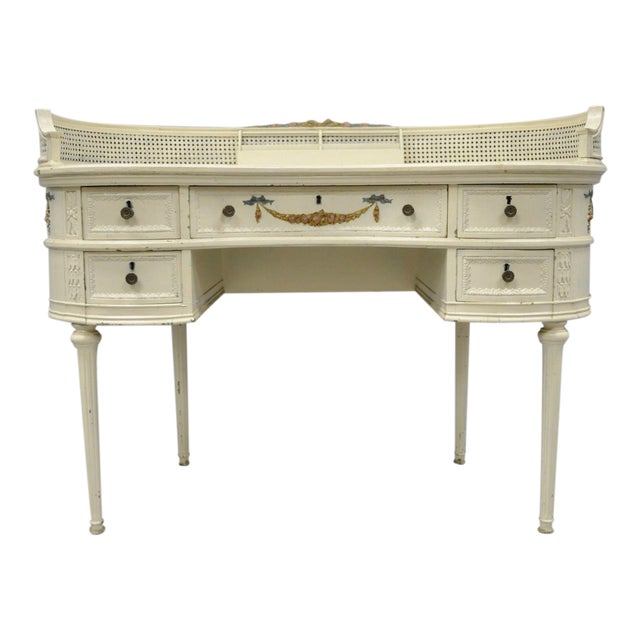 Antique French Kidney Shaped Writing Desk - Antique French Kidney Shaped Writing Desk Chairish
