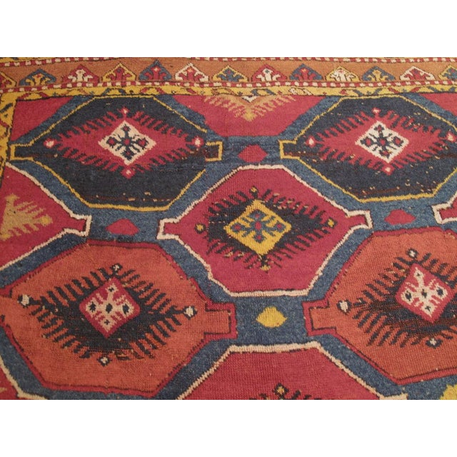 Early 20th Century Konya Wide Runner For Sale - Image 5 of 8