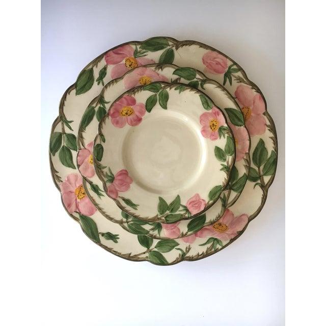 Franciscan Desert Rose Dinnerware - Service for 6 For Sale - Image 5 of 8