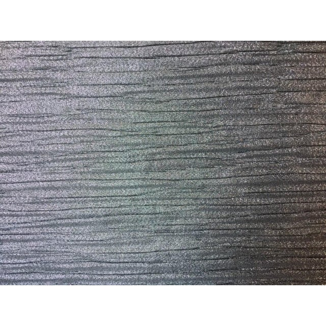Contemporary Kravet-Candice Olson Metallic Pleated Fabric 2-1/2 Yds. For Sale - Image 3 of 3