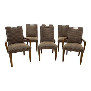 Century Furniture Delran Dining Chairs - Set of 6 For Sale