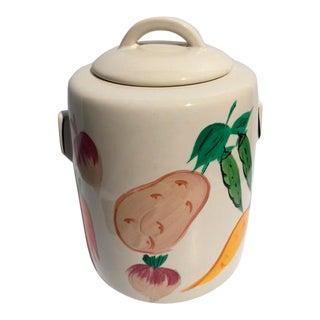 Vintage McCoy Fruit & Veggie Cookie Jar 1940's For Sale