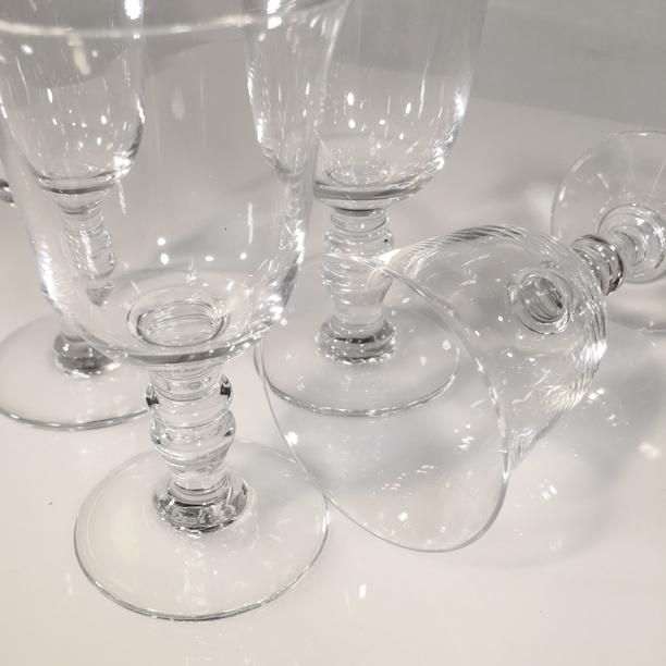 1970s 1970s Vintage Baccarat Crystal Provence Cordial Glasses- Set of 4 For Sale - Image 5 of 8