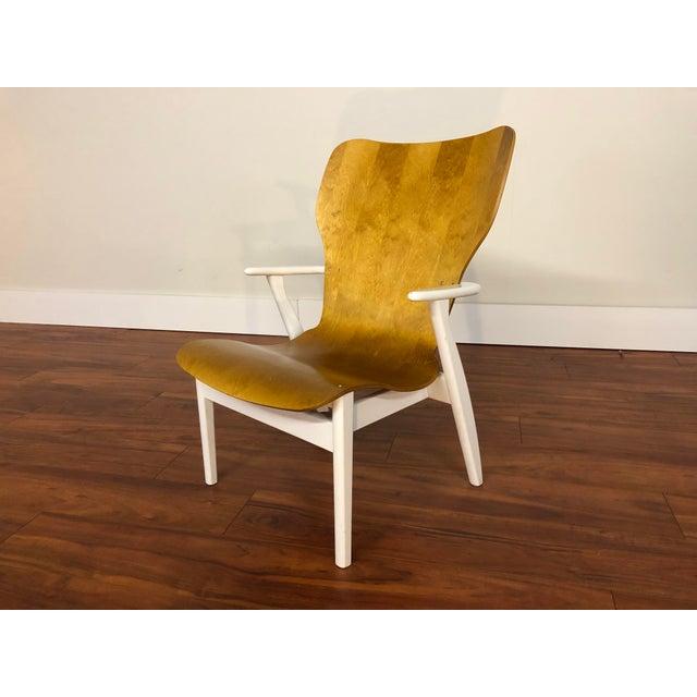 Mid-Century Modern Domus Lounge Chair by Ilmari Tapiovaara for Artek For Sale - Image 3 of 13
