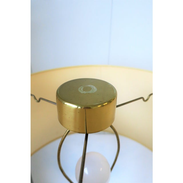 Modern Brass Floor Lamp by Koch and Lowey For Sale - Image 11 of 13