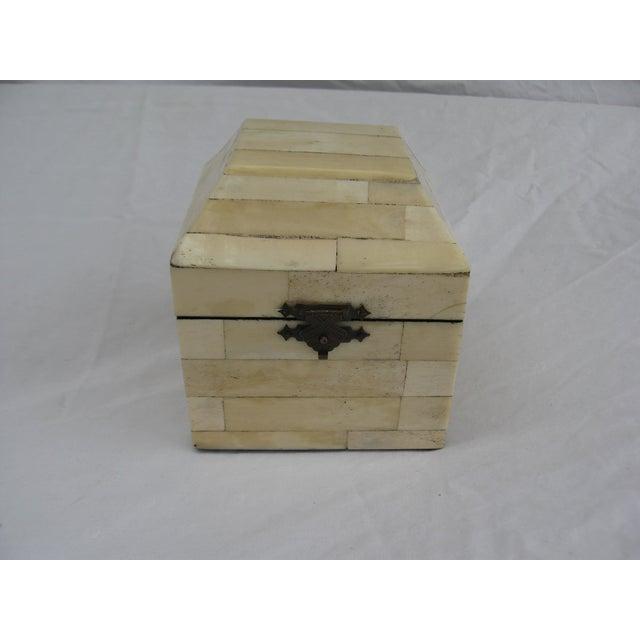 Chinese Bone Inlay Box - Image 3 of 9