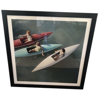 Slim Aarons Lake Tahoe Trip Framed Photographic Print For Sale