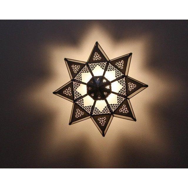Glass Star Shaped Light Shade Bruin Blog