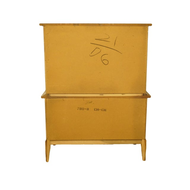 20th Century Italian Dixie Furniture Door Chest on Chest For Sale - Image 11 of 13