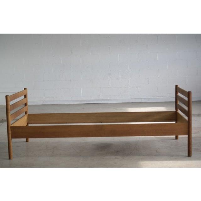 Ry Mobler Hans Wegner for Ry Mobler Mid-Century Oak Guest Bed For Sale - Image 4 of 9