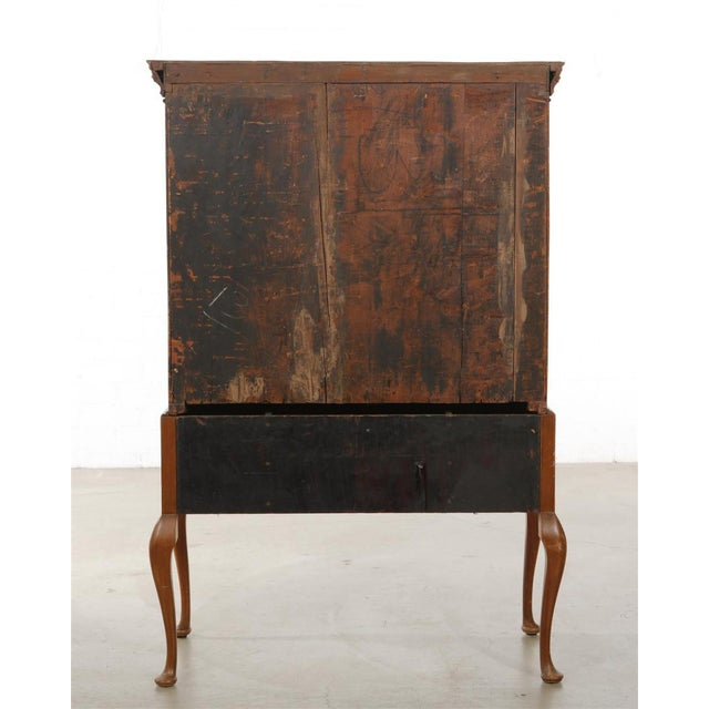 Georgian Antique Mid 18th C George II Mahogany Chest on Stand For Sale - Image 3 of 7