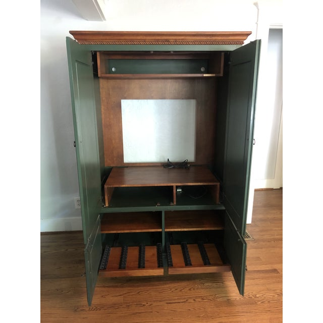 Ethan Allen Country Crossings Tv Armoire For Sale - Image 9 of 12