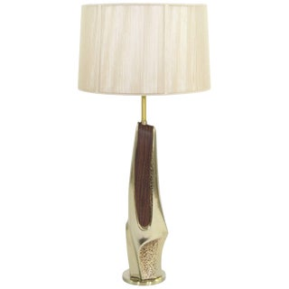 Bronze Table Lamp by Maurizio Tempestini for Laurel For Sale