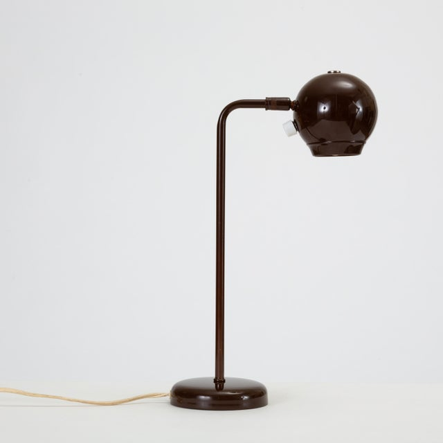 Mid-Century Modern Eyeball Table Lamp by Robert Sonneman for George Kovacs For Sale - Image 3 of 9