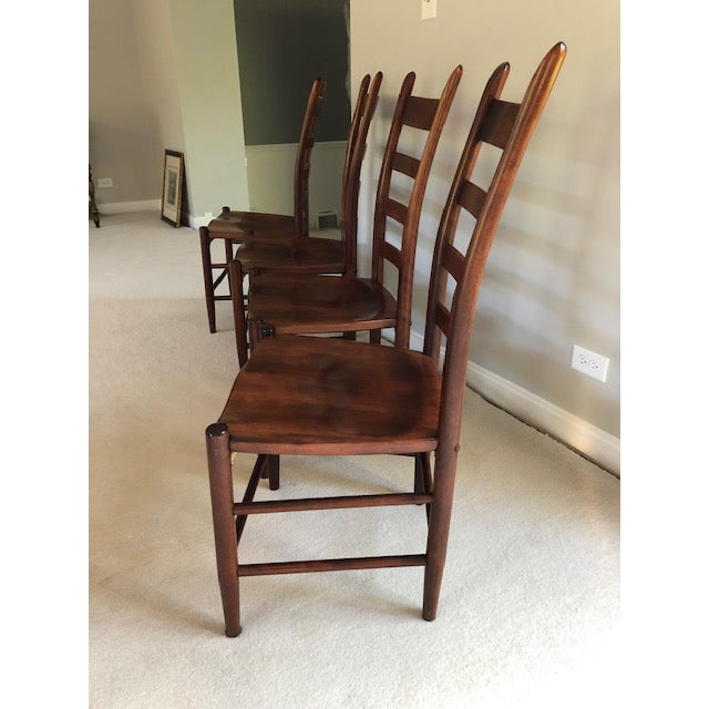 American Nichols and Stone Side Chairs- Set of 4 For Sale - Image 3 of 11