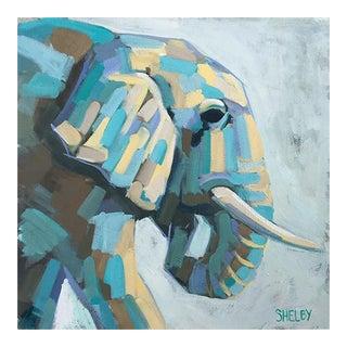 Alistair Elephant Acrylic Painting