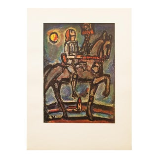 "1947 Georges Rouault, Original Period ""Notre Jeanne"" Lithograph For Sale"