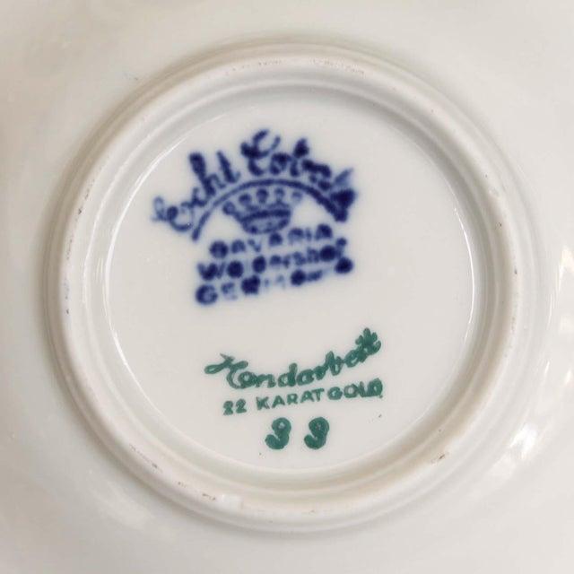 Vintage Baravia Tea Cup & Saucer For Sale - Image 4 of 5