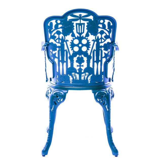 Seletti Seletti, Industry Armchair, Indoor/Outdoor, Sky Blue, Studio Job, 2017 For Sale - Image 4 of 5