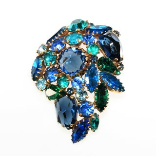 Weiss Majarani India Inspired Collection Brooch & Earrings Preview
