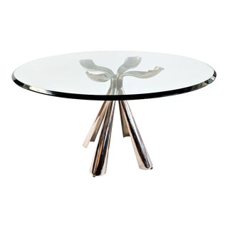1972 Vintage Vittorio Introini for Saporiti Center/Dining Table For Sale