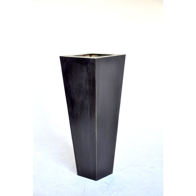 Inspired by traditional classic French home decor this classically proportioned box vase or planter will elegantly display...