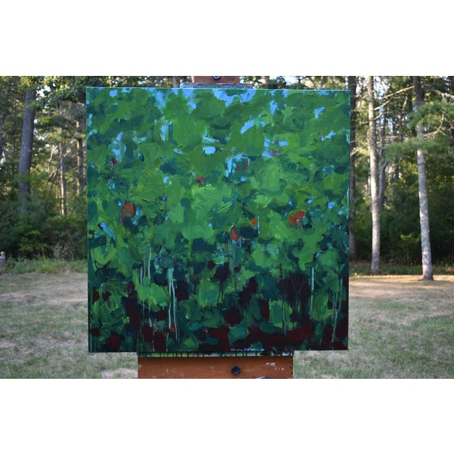 Contemporary Lush Garden by Stephen Remick For Sale - Image 3 of 12