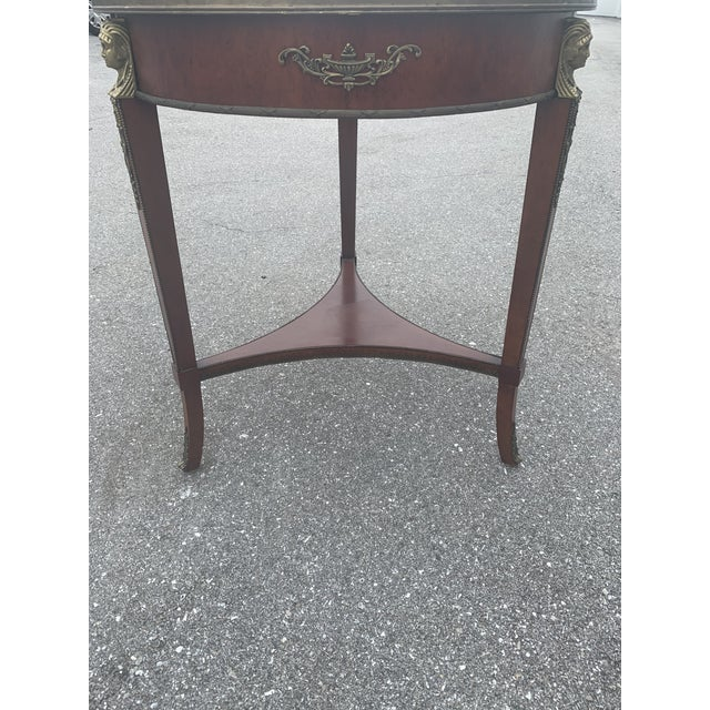 Traditional Vintage John Widdicomb Empire Gueridon Table For Sale - Image 3 of 9
