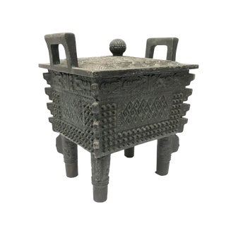 James Mont Chinese Cauldron Box For Sale