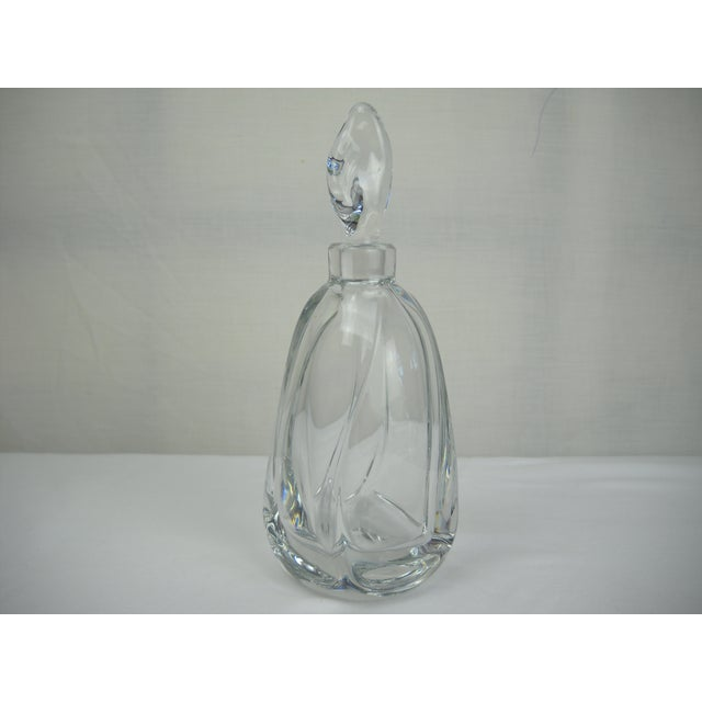 French Daum Crystal Scent Bottle - Image 4 of 8