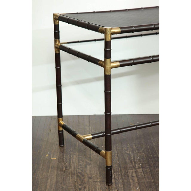 Animal Skin Iconic Billy Haines Console For Sale - Image 7 of 10