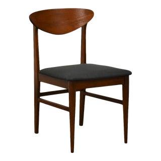 Walnut MCM Desk Chair For Sale