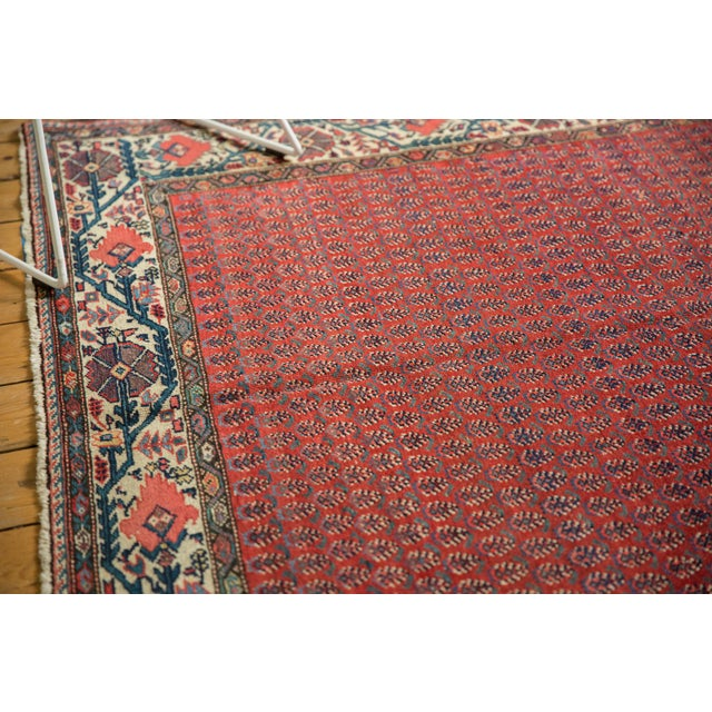 "Old New House Vintage Malayer Carpet - 5'8"" X 8'5"" For Sale - Image 4 of 12"