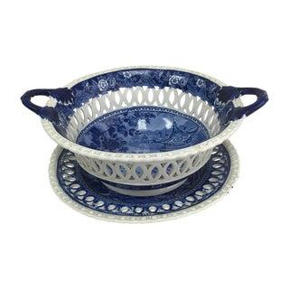 1840 Staffordshire Fruit Basket